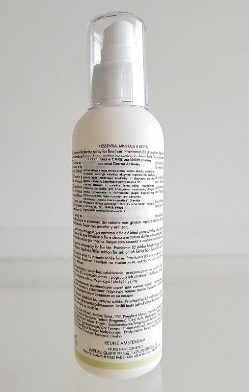 Purškiklis plaukų apimčiai didinti Keune Care 200ml
