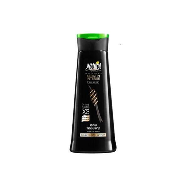 Šampūnas tiesinamiems plaukams Natural Formula 400ml