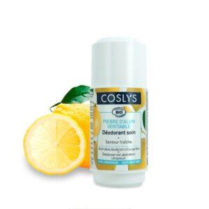Dezodorantas iš alūno akmens Coslys citrinų kvapo 50ml