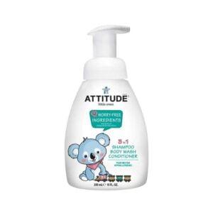 Ekologiškas prausiklis kūdikiams 3in1 Attitude 300ml