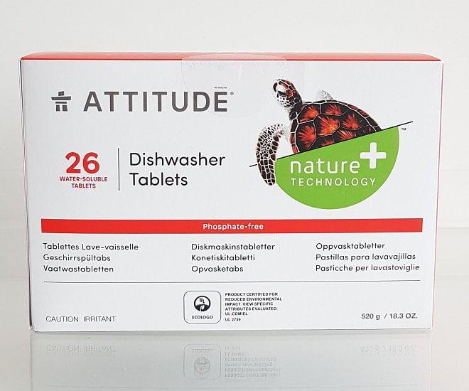 Ekologiškos tabletės indaplovei Attitude 26 vnt.