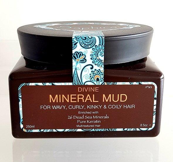 Drėkinamasis mineralinis purvas plaukams Saphira 250ml