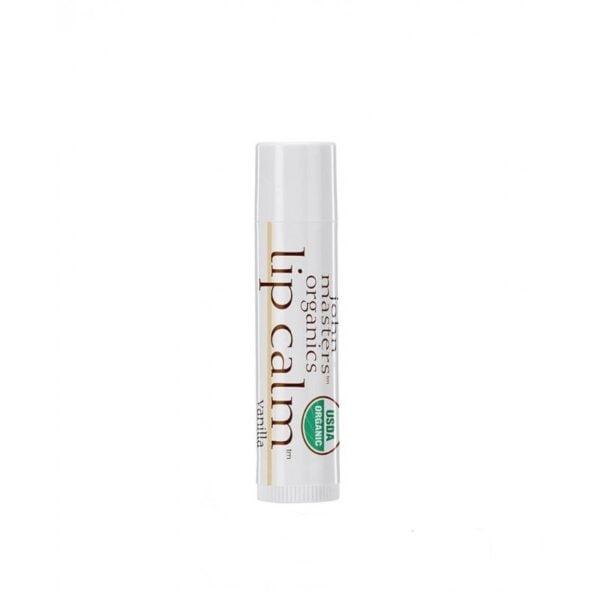 Lūpų balzamas John Masters Organics vanilės aromato 4g