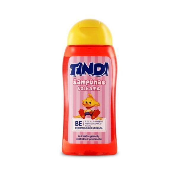 Šampūnas vaikams Tindi su kviečių gemalų ekstraktu ir pantenoliu 210ml