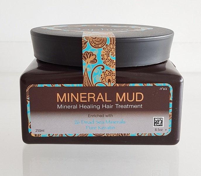 Saphira Mineral Mud 250ml kaukė - mineralinis purvas plaukams su keratinu