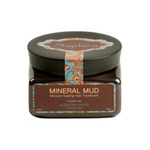 Mineralinis purvas plaukams su keratinu Saphira 250ml