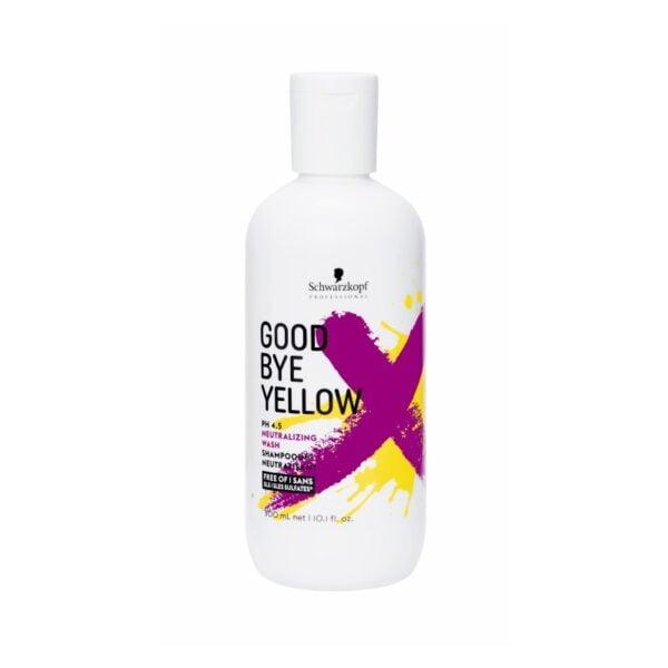 Šampūnas neutralizuojantis gelsvą spalvą Schwarzkopf Goodbye Yellow 300ml