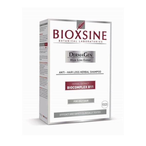 Šampūnas stabdantis slinkimą Bioxsine riebiems plaukams 300ml