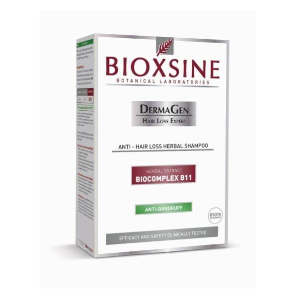 Šampūnas stabdantis slinkimą ir nuo pleiskanų Bioxsine 300ml