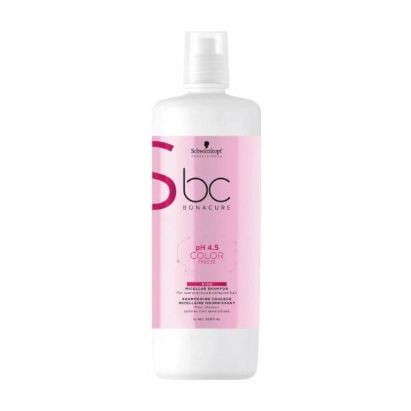 Šampūnas dažytų plaukų maitinimui Schwarzkopf BC 1L Bonacure