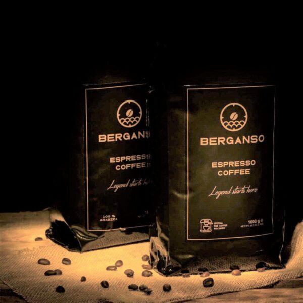Kavos pupelės BERGANSO ESPRESSO, 1 kg • 100% arabica
