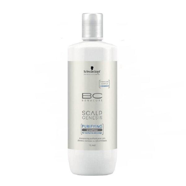 Valomasis šampūnas Schwarzkopf BC Scalp Genesis 1L