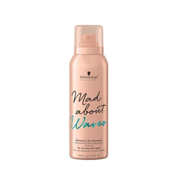 Sausas šampūnas banguotiems plaukams Schwarzkopf Mad About Waves 150ml