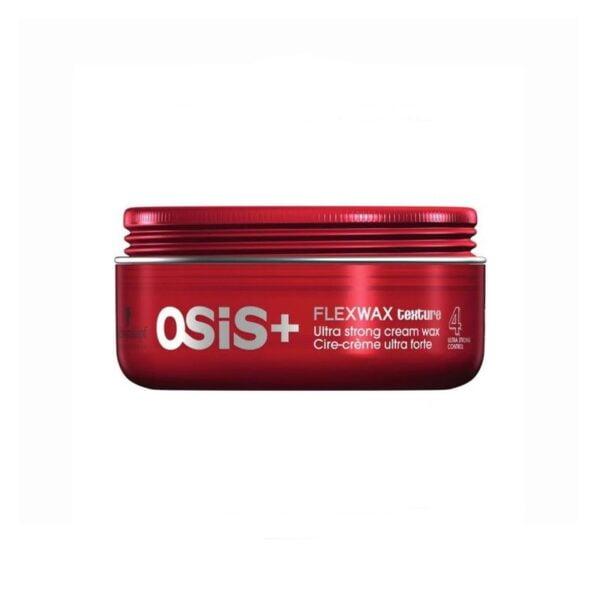 Plaukų formavimo vaškas itin stiprios fiksacijos Schwarzkopf Osis+ Flexwax 85ml