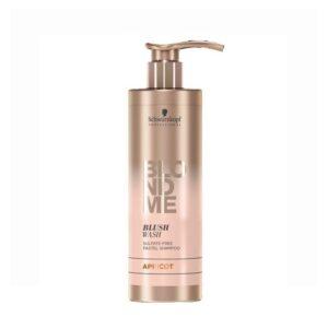 Dažomasis šampūnas abrikosų spalvos Schwarzkopf Blond Me Apricot 250ml