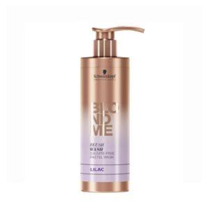 Dažomasis šampūnas alyvinės spalvos Schwarzkopf Blond Me Lilac 250ml