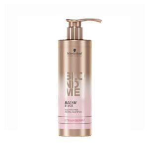 Dažomasis šampūnas braškinės spalvos Schwarzkopf Blond Me Strawberry 250ml