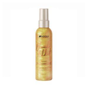 Purškiklis auksiniam plaukų spindesiui Indola Blond Addict Gold 150mlPurškiklis auksiniam plaukų spindesiui Indola Blond Addict Gold 150ml
