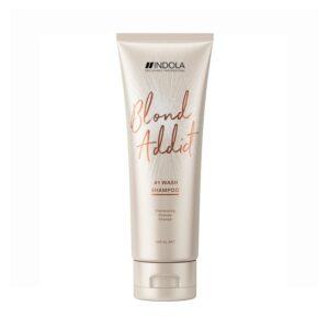 Saitus stiprinantis šampūnas Indola Blond Addict 250ml