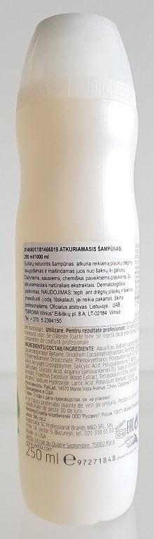 Atkuriamasis šampūnas be sulfatų ir parabenų Elements