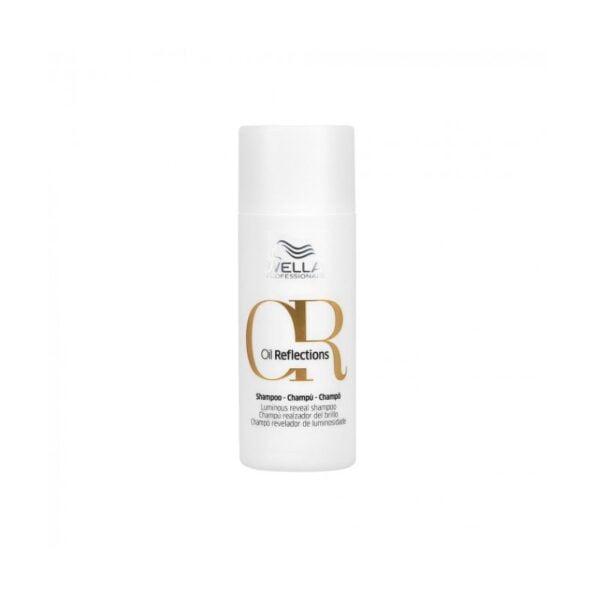Glotnumą ir blizgesį suteikiantis šampūnas Oil Reflections 50ml, Wella Professionals
