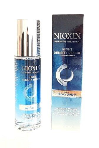 Plaukų tankumą atkurianti naktinė priemonė NIOXIN night density rescue 70 ml