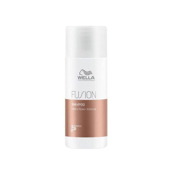Intensyvaus poveikio atkuriamasis šampūnas Fusion 50ml, Wella Professionals