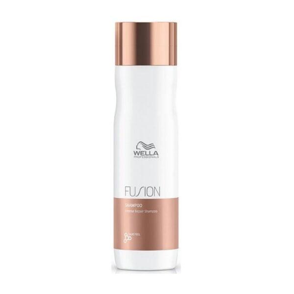 Intensyvaus poveikio atkuriamasis šampūnas Fusion 250ml, Wella Professionals