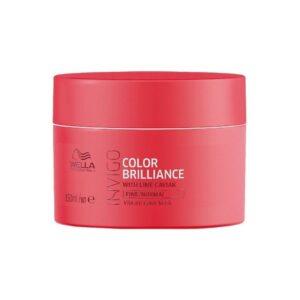 Kaukė dažytiems normaliems ir ploniems plaukams Wella Invigo Color Brilliance 150ml • mamaimam.lt