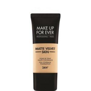Stipriai maskuojantis makiažo pagrindas Make Up For Ever Matte Velvet-Y355
