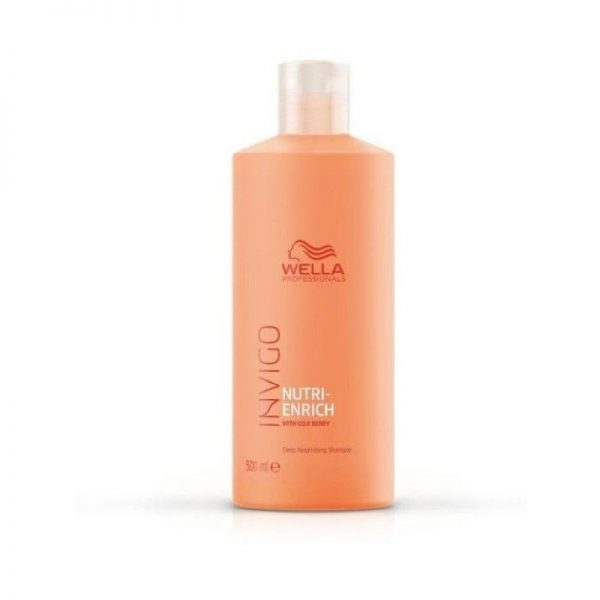 Maitinamasis šampūnas su ožerškio uogomis Wella Invigo 500ml