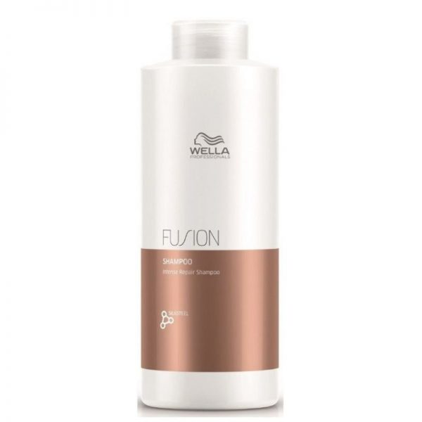 Intensyvaus poveikio atkuriamasis šampūnas Wella Fusion 1000ml