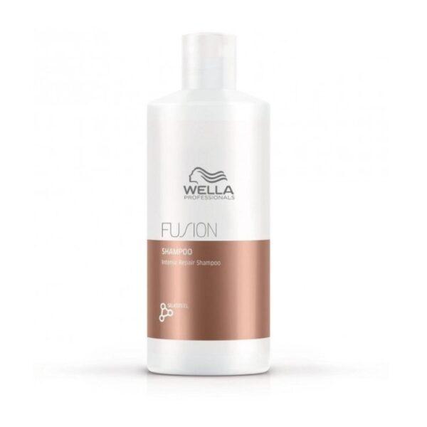 Intensyvaus poveikio atkuriamasis šampūnas Wella Fusion 500ml