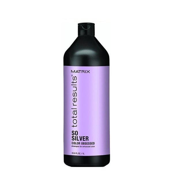 Šampūnas pilkintiems plaukams Matrix Total Results So Silver 1000ml