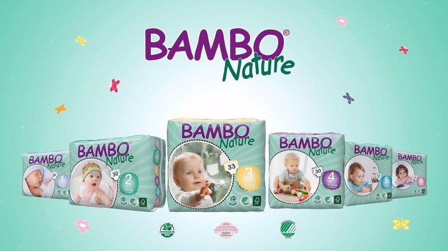 Visos ekologiškos sauskelnės BAMBO NATURE pigiau