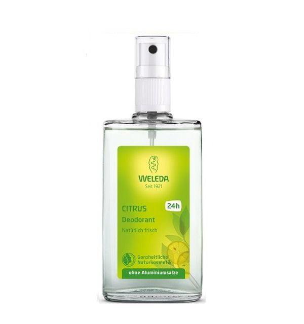 Purškiamas dezodorantas su citrusiniais vaisiais Weleda Citrus 100ml