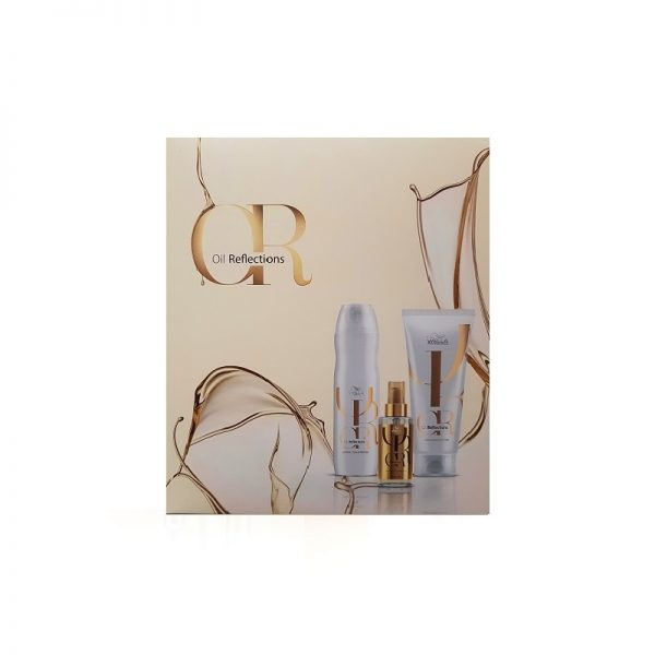 Rinkinys plaukų glotnumui ir blizgesiui Oil Reflections, Wella Professionals