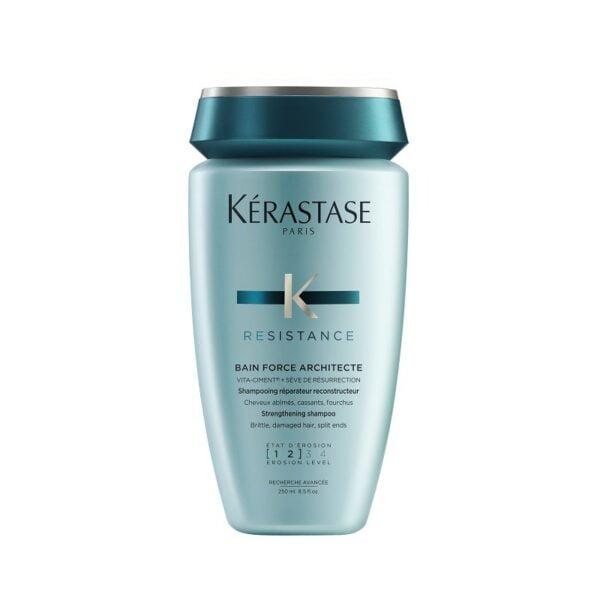 Šampūnas pažeistiems ir lūžinėjantiems plaukams Kerastase Resistance