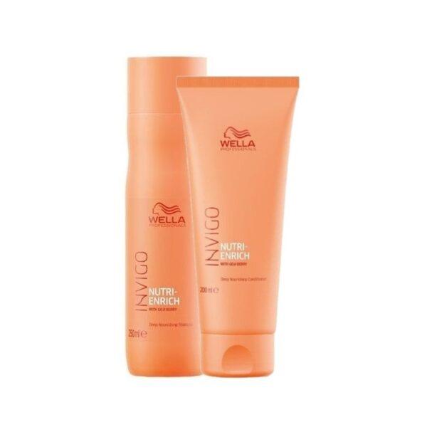 Maitinamasis plaukų rinkinys Wella Invigo Nutri-Enrich Duo