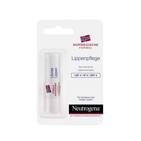 Apsauginis lūpų balzamas su SPF4 Neutrogena 4,8g.