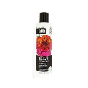 Atstatomasis šampūnas su rožių aliejumi Faith In Nature