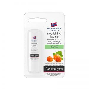 Maitinamasis lūpų balzamas Neutrogena Nordic Berry 4,8g.