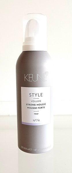 Putos maksimaliai didinančios apimtį Keune Style Strong 200ml