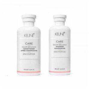 Rinkinys dažytų plaukų apsaugai Keune Care Duo