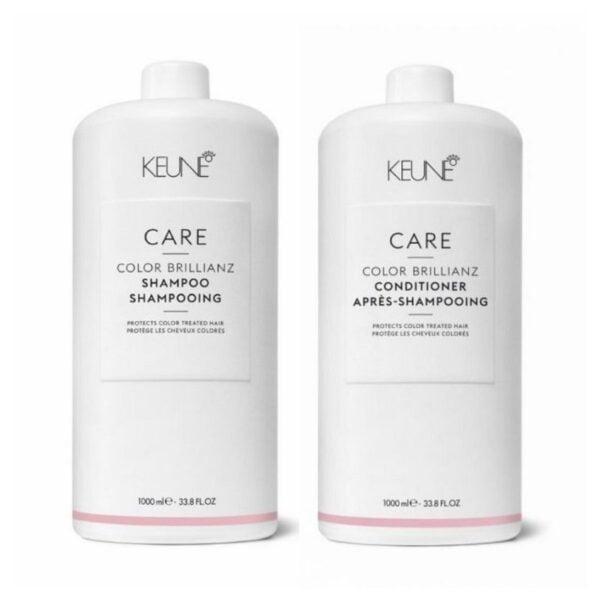 Rinkinys dažytų plaukų apsaugai Keune Care Duo XL