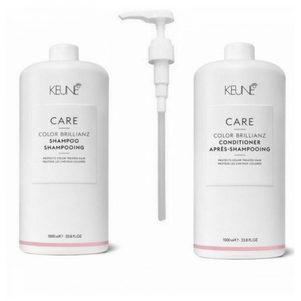 Rinkinys dažytų plaukų apsaugai Keune Care Duo XL, dozatoriai