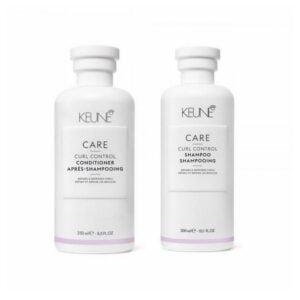 Rinkinys garbanotiems plaukams Keune Care Duo
