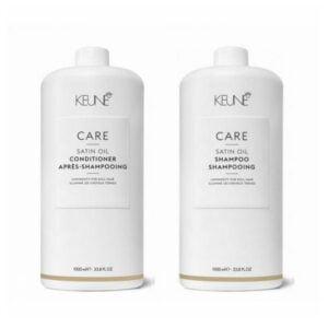 Rinkinys pažeistiems ir sausiems plaukams Keune Care Duo XL