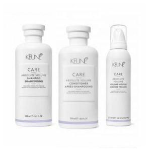 Rinkinys plaukų apimčiai didinti Keune Care Trio