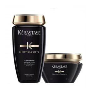 Rinkinys plaukų gyvybingumui atkurti Kerastase Chronologiste Duo